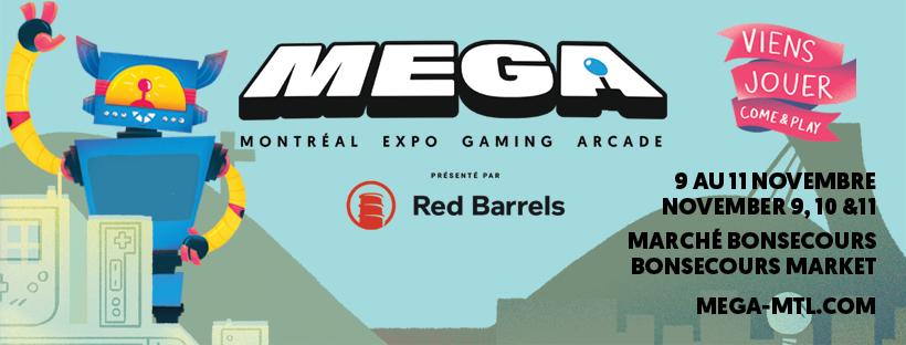 MEGA 2018 - November 9, 10, 11